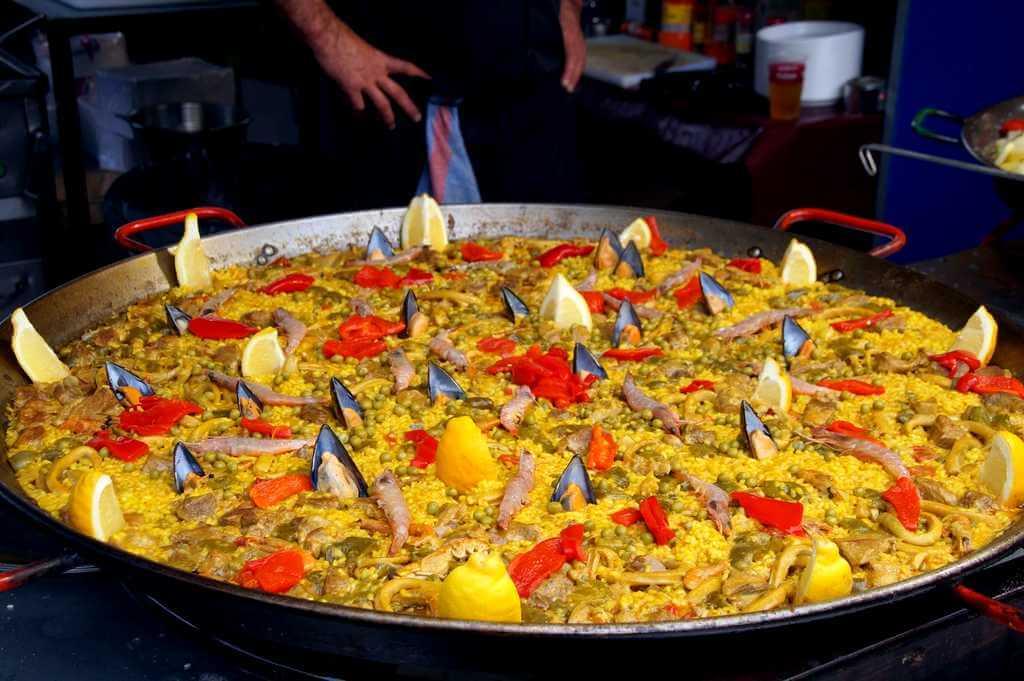 Еда на Тенерифе: паэлья