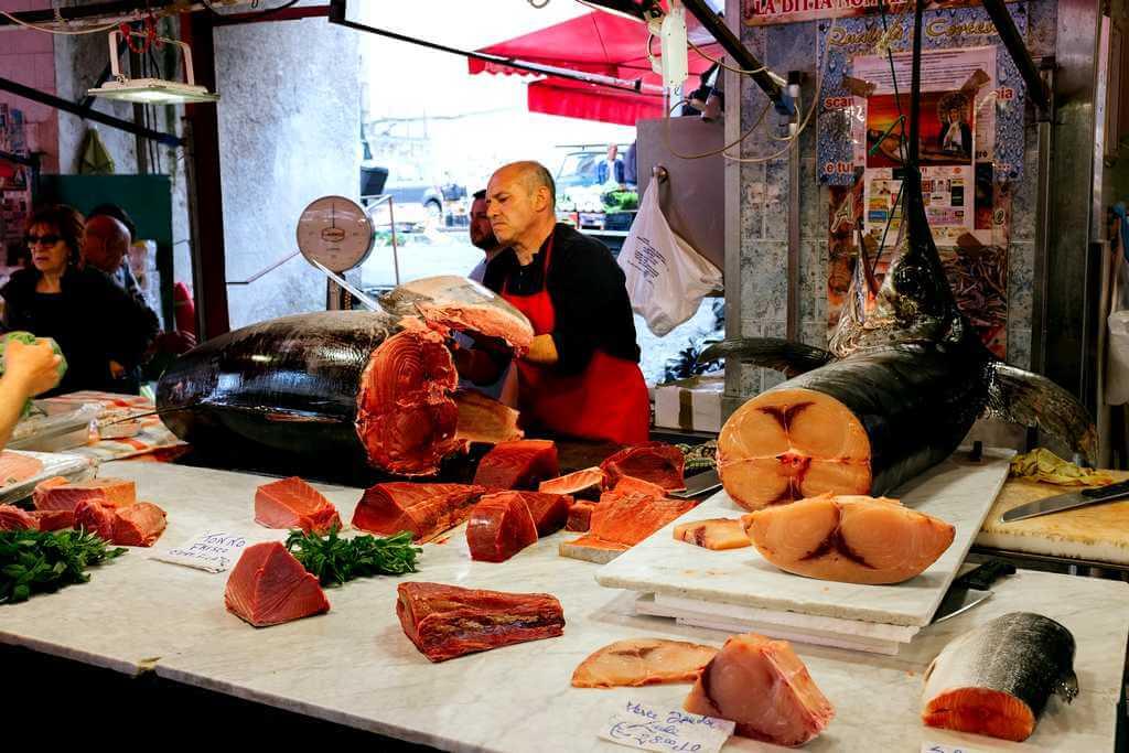 Еда на Тенерифе: рыбный рынок