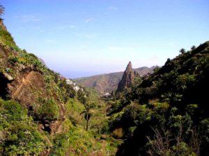 Вид на деревню и ущелье Маска