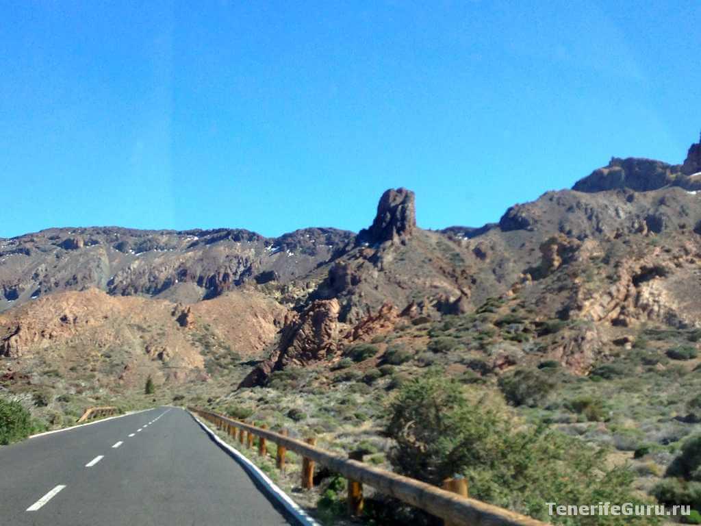Дорога к национальному парку Тейде