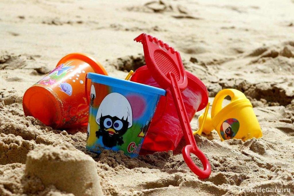 Отели для детей на Тенерифе: пляж