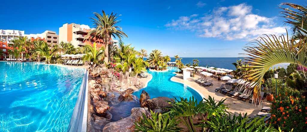 Отели Тенерифе с подогреваемыми бассейнами: Рока Нирвана