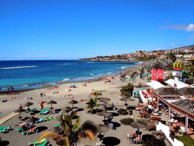 Пляжи на Тенерифе: Коста Адехе