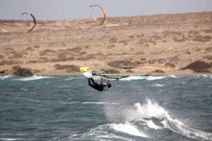 Пляжи Тенерифе: кайтсерферы в Эль Медано