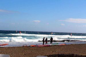 Пляжи Тенерифе: Эль Медано серфинг
