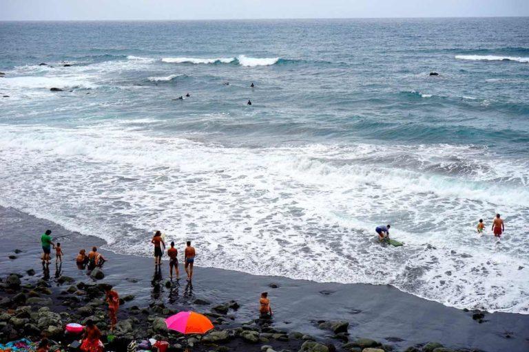 Пляжи Тенерифе: вулканический пляж