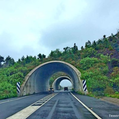 Туннель на Тенерифе: прокат авто