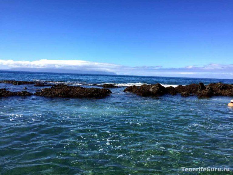 Природные бассейны Тенерифе: Алкала
