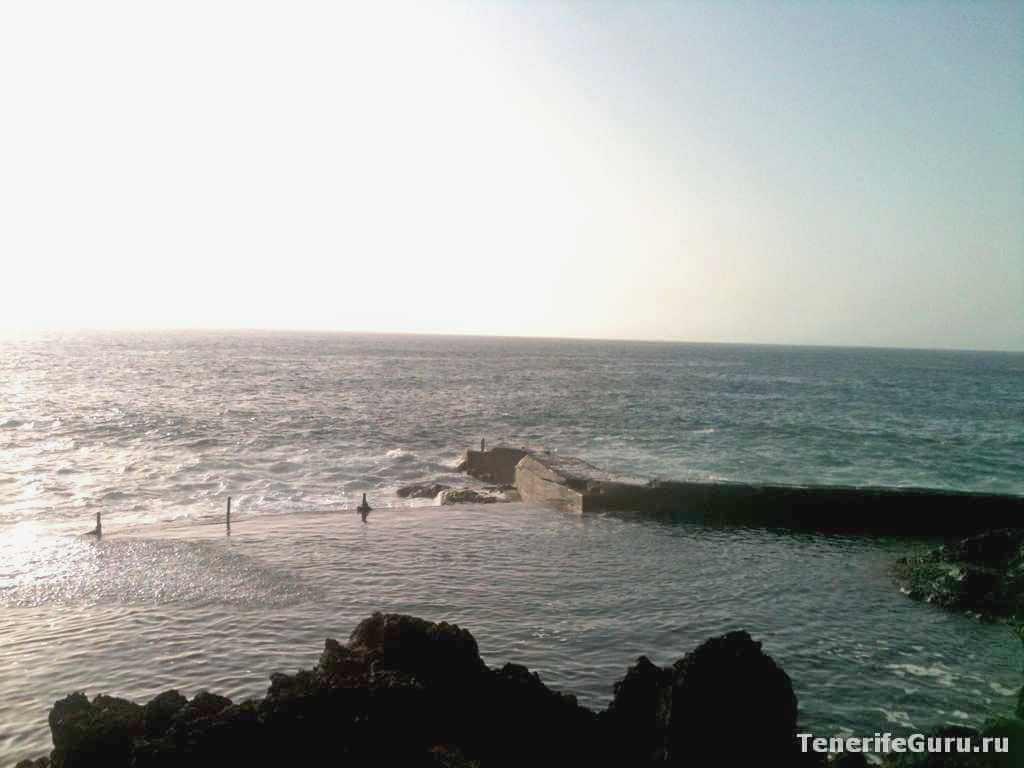 Природные бассейны Тенерифе: Лос Гигантес
