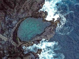 Природные бассейны Тенерифе: вид сверху