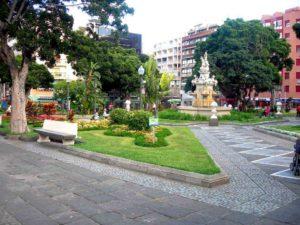 Парк в Санта-Крус-де-Тенерифе
