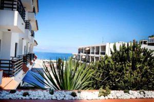 Плайя Ла Арена - вид на океан с террасы наших апартаментов