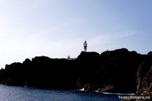 Вид на маяк Тено с мыса
